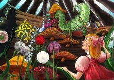 Alice Meets The Caterpillar by Mark Kummer [©2010]