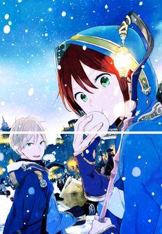 Akagami no Shirayukihime - Zen and Shirayuki #manga