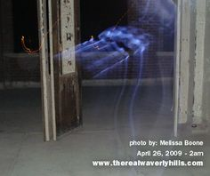 More pictures of ghosts like apparitions in Waverly Hills Sanatorium