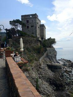 #Castello  on the #Mediterranean #Vernazza #cinqueterre Tuscany