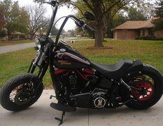 2008 Cross Bones Harley Davidson FLSTSB Softail Motorcycle