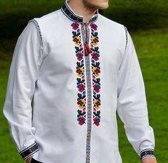 Muslim Fashion, Ethnic Fashion, Womens Fashion, Russian Fashion, Cross Stitch Embroidery, Embroidery Designs, Fashion Dresses, Bomber Jacket, Menswear