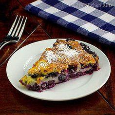 Blueberry Flaugnarde (Flan) 1 by kitchenriffs, via Flickr