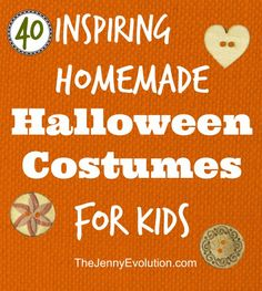 40 Awesome Homemade Kid Halloween Costumes You Can Actually Make | The Jenny Evolution