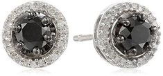 Sterling Silver Black and White Diamond Stud Earrings (1 cttw)by Amazon Curated Collection - See more at: http://blackdiamondgemstone.com/jewelry/earrings/stud/sterling-silver-black-and-white-diamond-stud-earrings-1-cttw-com/#sthash.IeUEoGcP.dpuf