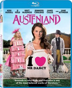 Austenland Book & Movie Review How about you? Would you like to go for a vacation at Austenland? Don period clothes? Follow period rules? Eat period meals? Meet your own personal Mr. Darcy? That's the premise of Austenland, when one young woman unlucky in love goes off for a vacation at Austenland. #janeausten #kerirussell