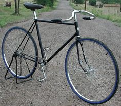 This Vintage Prewar Schwinn Superior Fixie Racer is a retro custom vintage cruiser ready to ride daily in style.