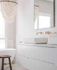 Bathroom Tapware, Bathroom Renos, Laundry In Bathroom, Bathroom Renovations, Small Bathroom, Remodel Bathroom, Bathroom Ideas, Bad Inspiration, Bathroom Inspiration