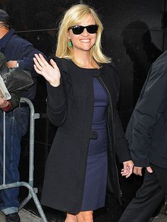 Reese Withersoon - love the coat