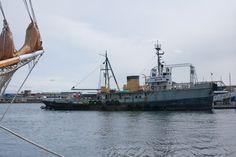 Veteran Coast Guard Cutter in the process of being restored.