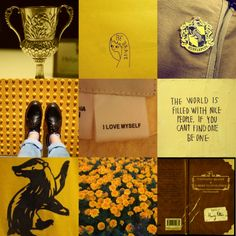 snivellusandcompany:  ::hufflepuff aesthetic:: //you might belong in hufflepuff, where they are just and loyal, those patient hufflepuffs are true, and unafraid of toil//