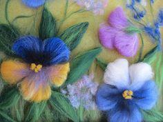 Мир рукоделия Анны Сожан: Рисую шерстью