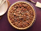 Chocolate pecan pie - add whipped cream