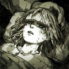 Asriel Dreemurr/God of Hyperdeath and Chara   Artist Lee-JenG