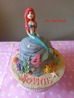 The Little Mermaid Cake - Cake by Zoe Robinson