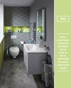 Three Ways To Invite Colour Into A Bathroom