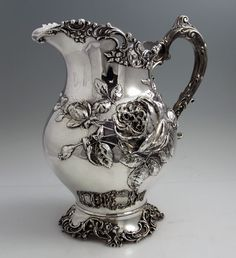Fuchs sterling antique pitcher