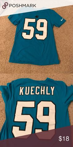 30056cf0d Carolina Panthers Luke Kuechly Nike Tee in great condition