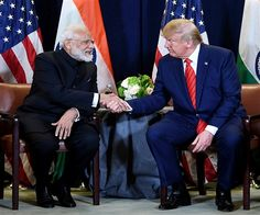 Prime Minister Narendra Modi told US President Donald Trump that India is not shying away from talks with Pakistan, but for that it expects Impact Of Terrorism, Muslim Faith, Us Presidents, News Today, Donald Trump, Suit Jacket, India, Hollywood, Shit Happens
