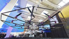 18 rotors and up: E-volo shows personal helicopter prototype
