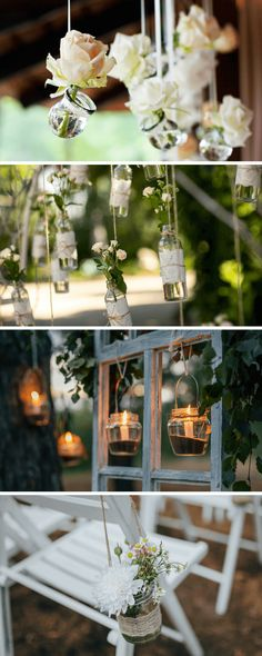 diy wedding decoration, wedding decoration made of glass - Do Garden Diy Wedding Decorations, Table Decorations, Wedding Planning, Inspiration, Glass, Garden, Home Decor, Future, Ornaments