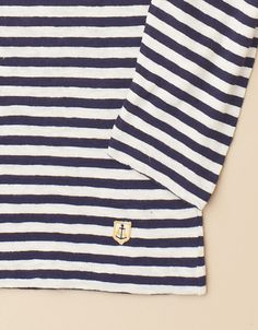 Long Sleeved T Shirt (nature/navy)