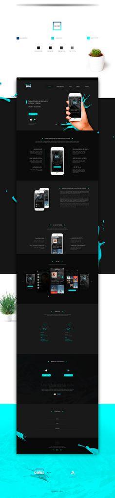 Códice App | Landing Page