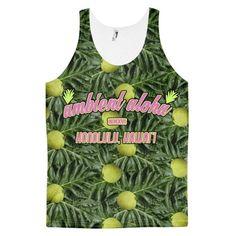 Buy Tropical T-shirts 'Ulu, Breadfruit Classic fit tank top (unisex) – Ambient Aloha