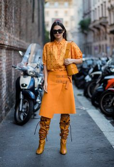 Orange Colourblock