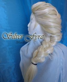 Frozen Elsa Ice Snow Queen Wig Hair Happy Birthday to Me?