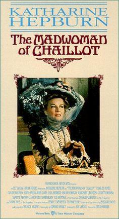 THE MADWOMAN OF CHAILLOT (1969) ~ Katharine Hepburn, Yul Brynner, Richard Chamberlain.