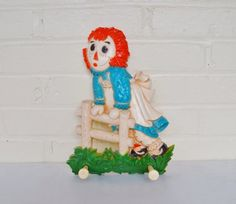 V2Team Raggedy Ann In The Garden by Niki Patterson on Etsy A cool Etsy Treasury Collection featuring my handpainted garden gloves!
