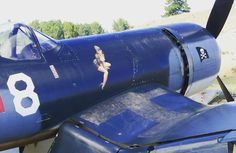 Met this sexy lady on the nose of a #corsair #wanaka #warbirdsoverwanaka #noseart #pinup #art #ww2 #vintage #WWII #veterans #warbirds #USA #Military #airforce #fighters #airshows #history #aviation #newzealand #nz