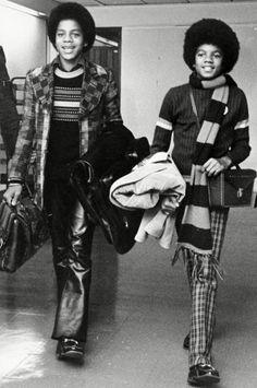 Marlon & Michael, 1973.