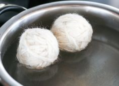 DIY Wool Dryer Balls - Oh, The Things We'll Make!