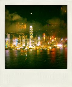 Hong Kong Harbour from AQUA