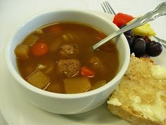 Bullet Soup... Bullet Soup is a Metis tradition. The name comes from the French word boulettes, meaning meatballs. This modernized version of Bullet Soup comes from Colleen Hamilton of CHEP Good Food Inc., who grew up in one of the original French Métis communities of Manitoba, Canada.