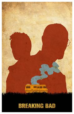 Breaking Bad - Mminimalist movie poster featuring Walter White, Jesse Pinkman and the infamous RV Breaking Bad Poster, Breaking Bad Series, Breaking Bad Art, Minimalist Poster, Minimalist Art, Braking Bad, Plakat Design, Film Serie, Cultura Pop