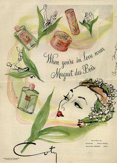 girlyme:    Coty 1944 (by Joy Northrop)