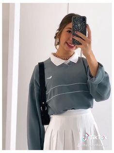 tiktok: fashionflavour ig: sophievanoest #athletic #skirt #outfit #summer ootd fashionflavour outfit sophie van oest fashion style summer clothes fits fit aesthetic nike vintage tennis skirt indie aesthetic Indie Outfits, Teen Fashion Outfits, Retro Outfits, Vintage Outfits, Skater Girl Outfits, Skirt Outfits, Skirt Ootd, Cute Comfy Outfits, Stylish Outfits
