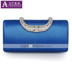 AIKEWEILI®Women's Bag Fashion Luxury Diamante Clutch Bag Europe New Style Evening Bag Hot Wedding Party Bags 2015 – $40.30