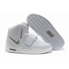31a4c7bc59a Nike Air Yeezy 2 II Kanye Wests All White All Nike Shoes