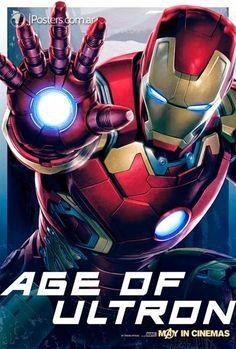 Los Vengadores: La era de Ultrón presenta nuevos pósters – Alfa Beta Juega