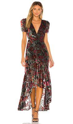Shop for MISA Los Angeles Katarina Dress in Safari Floral at REVOLVE. Dress Outfits, Casual Dresses, Floral Dresses, House Dress, Revolve Clothing, Silk Chiffon, Designer Dresses, Designer Clothing, Luxury Fashion