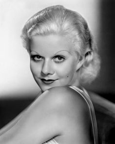 She was the most famous Platinum blonde, for sure. Jean Harlow.