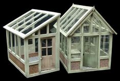 Petite Properties Ltd: Miniatura Preview - 1:24th Greenhouse or 'Lean To' Kits..!