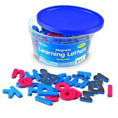 Magnetische letters - kleine letters