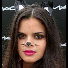 Bip Ling wearing Ad Hoc sequin cat ears