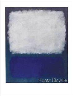 Mark Rothko - Blue and grey, 1962