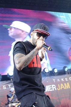 Swizz Beatz at Hot 97 Summer Jam 2012